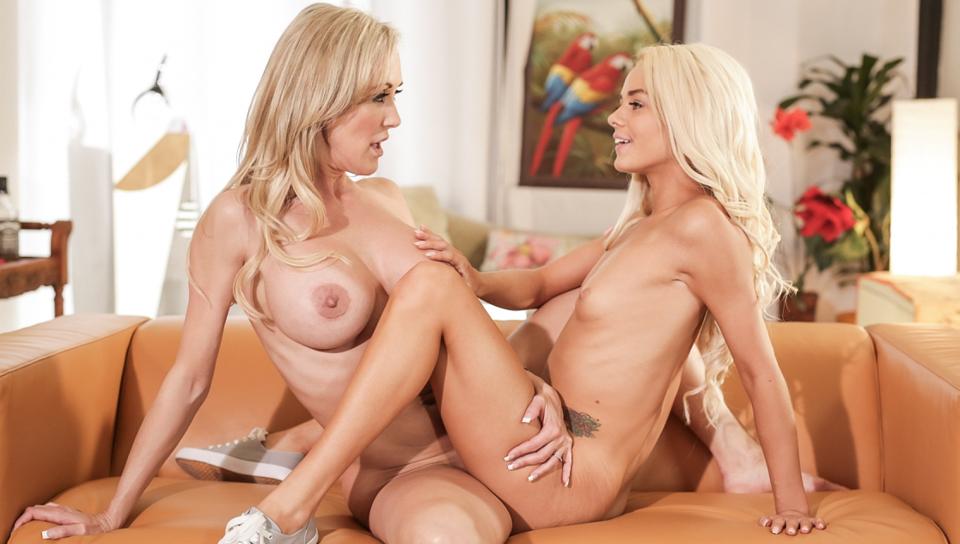Brandi Love & Elsa Jean make each other cum