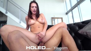 HOLED Keisha Grey clean asshole gets fingered and filled up with dick