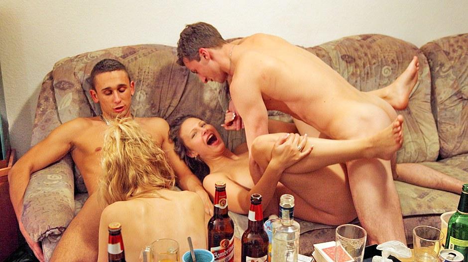 College Party Amateur Blowjob