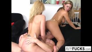 Avy Scott, Alexis & Van Damage all get some intense orgasms