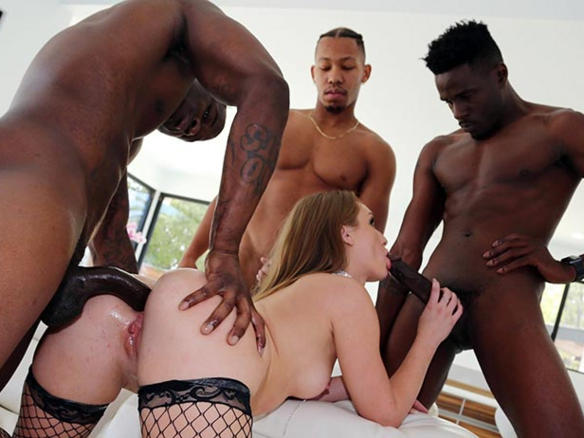Nina Kayy Interracial Anal